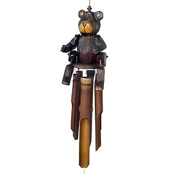 Barry Puppet Bamboo Wind Chime