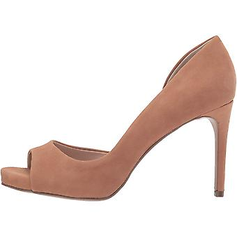 Charles by Charles David Womens Chess Leather Open Toe D-orsay Pumps