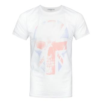 Junk Food Union Jack Skull Men's T-Shirt