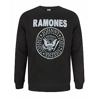 Förstärkt Ramones Seal Logo Män & apos; s sweatshirt