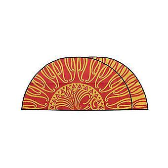 ماوري Ooraa نيوزيلندا تصميم حصيرة المعاد تدويرها