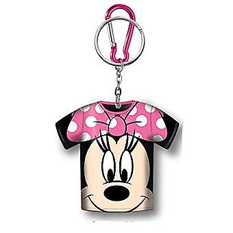Geldbörse - Disney - Minnie Mouse T-Shirt Halter Schlüsselanhänger neue 85087