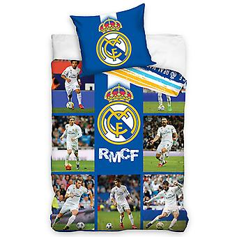 Real Madrid CF Ronaldo Stars Single Cotton Duvet Cover Set