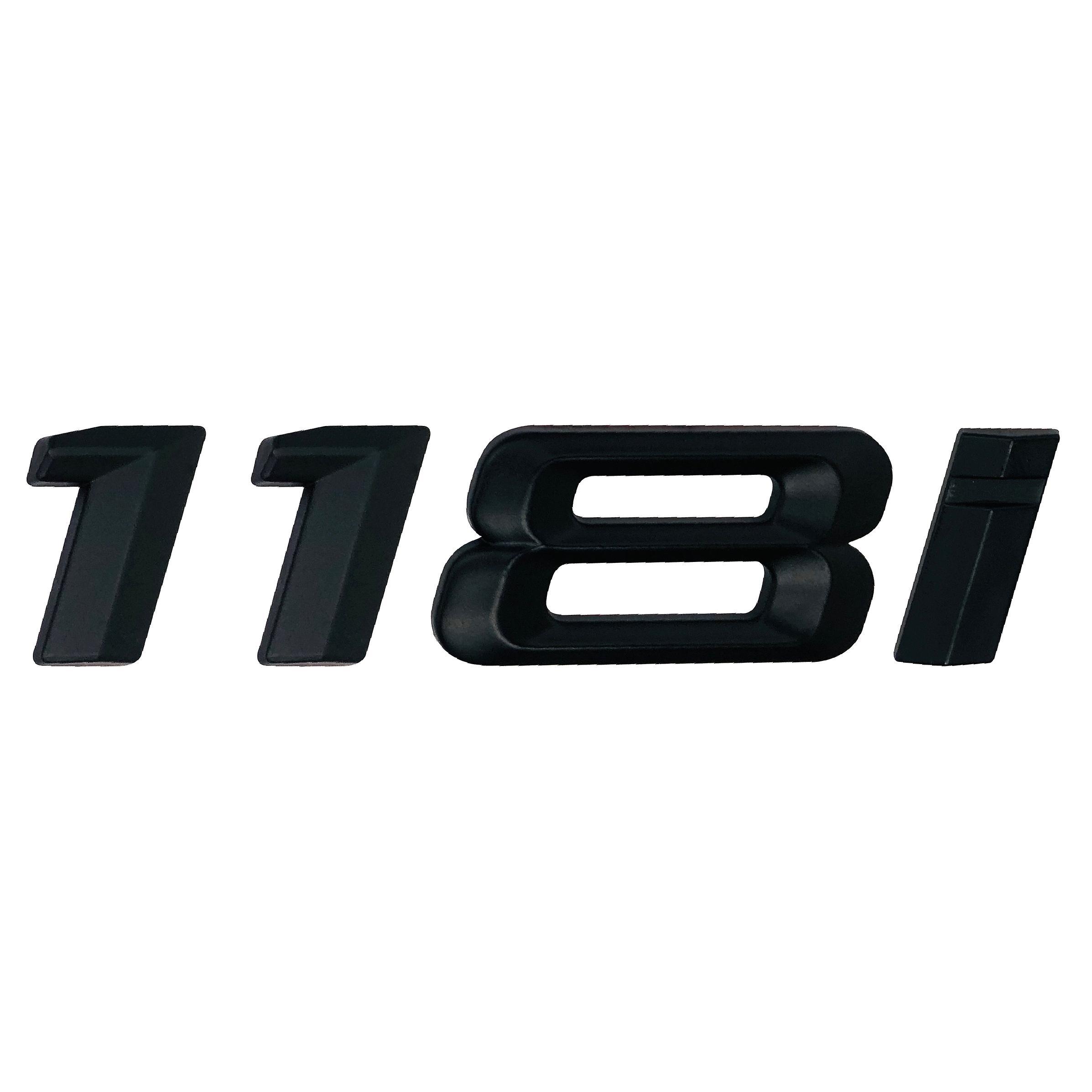 Matt Black GLS63 Rear Boot Badge Emblem Letter Number Compatible For GL-Class X164 X166 X167 AMG
