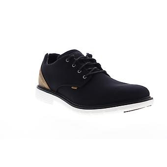 Mark Nason Lite Lugg Hayden  Mens Black Canvas Casual Lace Up Oxfords Shoes