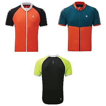 Dare 2B Mens Accurate II Full Zip Cycling Jersey