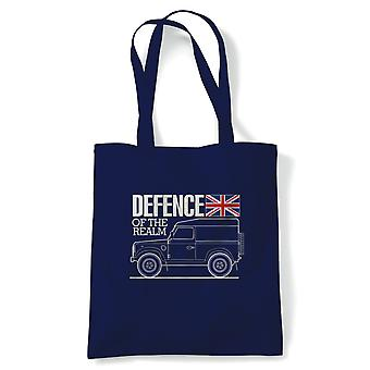 Defence Of The Realm Off Road 4X4, Fourre-tout - Reusable Shopping Canvas Bag Gift