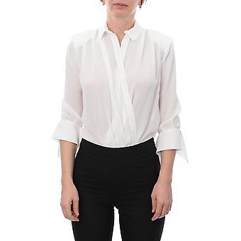 Elisabetta Franchi Cb06696e2360 Women's White Polyester Bodysuit