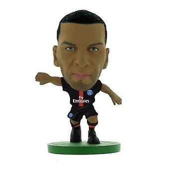 Soccerstarz Paris St Germain Dani Alves (2018) Home Kit
