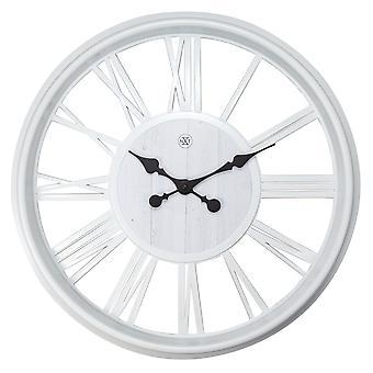 nXt- Wall clock - Ø 51 cm - Plastic - White - 'Quebec'