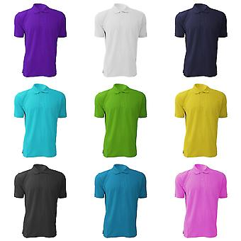 Russell Mens 100% Cotton Short Sleeve Polo Shirt
