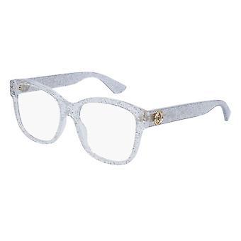 Gucci GG0038O 006 Silver Glasses