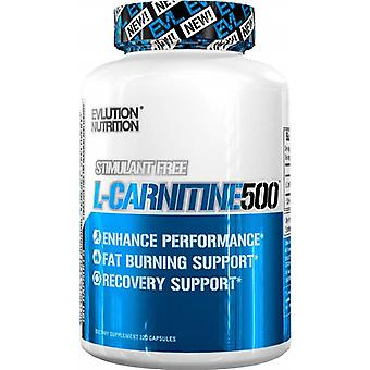 Evlution Nutrition L-Carnitine 500 with 120 Capsules