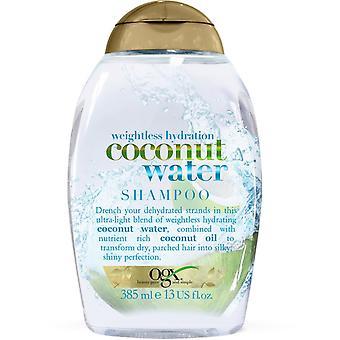 OGX Weightless Hydration Coconut Water Shampoo 385ml