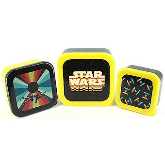 Star Wars Ep9 Retro Plastic Storage Set