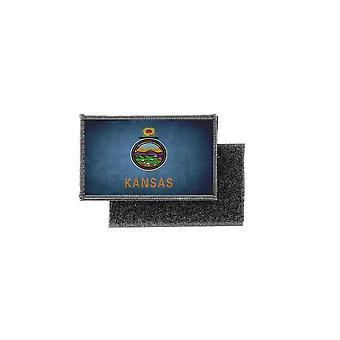 Patch ecusson prints vintage badge flag usa American united states kansas