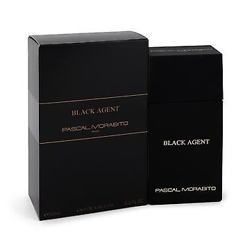 Black Agent by Pascal Morabito Eau De Toilette Spray 3.3 oz / 100 ml (Men)