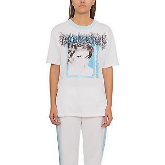 T-shirt blanc cassé Ezcr002001 Femmes-apos;s White Cotton