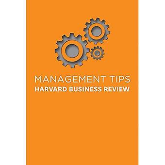 Management Tips: Van Harvard Business Review