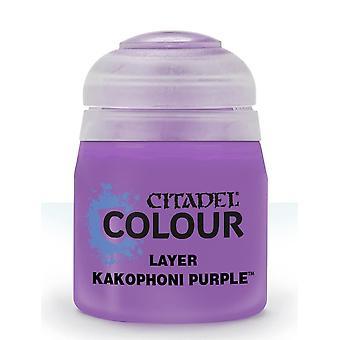 Kakophoni Purple  (12ml), Citadel Paint - Layer, Warhammer 40k/Age of Sigmar