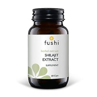 Fushi Wellbeing Shilajit Wholefood Extract 500mg Veg Caps 60 (F0020740)