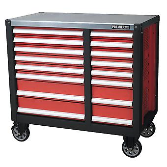 Sealey Ap24216 Mobile Workstation 16 Drawer With Ball Bearing Runners