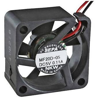 SEPA MF20C05L Axial fan 5 V DC 1.3 m³/h (L x W x H) 20 x 20 x 8 mm
