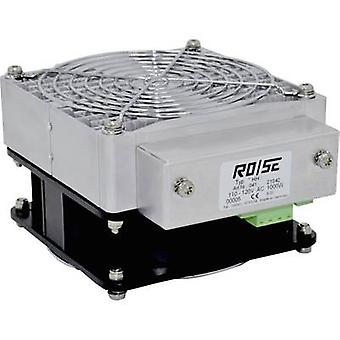 Rose LM Enclosure fan heater HHS630 220 - 240 V AC 630 W (L x W x H) 150 x 125 x 80 mm (without holder) 1 pc(s)