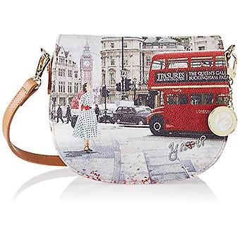 YNOT J-353 Women's Multicolor Bus Ride 7x18x20 cm (W x H x L)