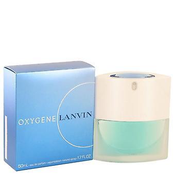 Oxygene Eau De Parfum Spray par Lanvin 1.7 oz Eau De Parfum Spray
