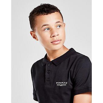 Nouveau McKenzie Kids' Essential Polo Shirt Noir