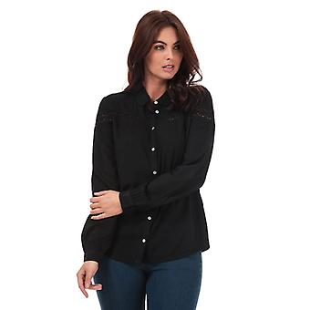 Women's Jacqueline de Yong Rosalina Shirt in Black