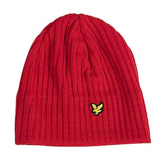 Accessories Lyle And Scott Rib Beanie in Red