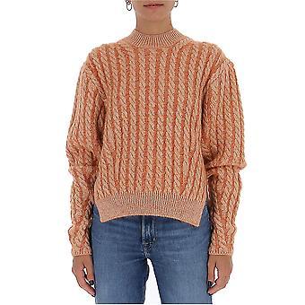 Chloé Chc20amp5059080d Women's Beige Wool Sweater