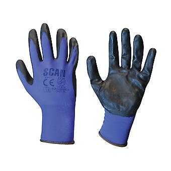 Scan Max. Dexterity Nitrile Gloves - Extra Large (Size 10)