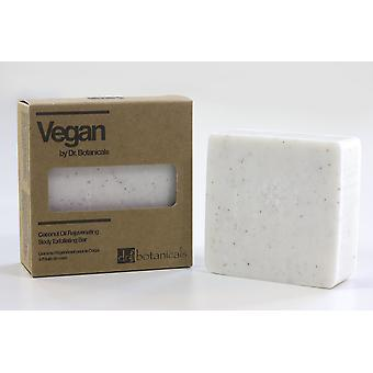 Coconut oil rejuvenating body exfoliating bar