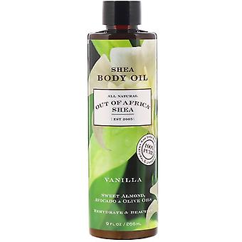 Out of Africa Shea Butter Body Oil Vanilla