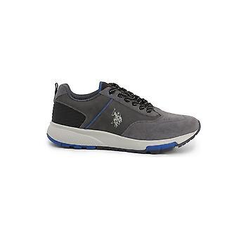 U.S. Polo Assn. - Skor - Sneakers - AXEL4120W9-SY1-ASH - Män - darkgray,blå - EU 43