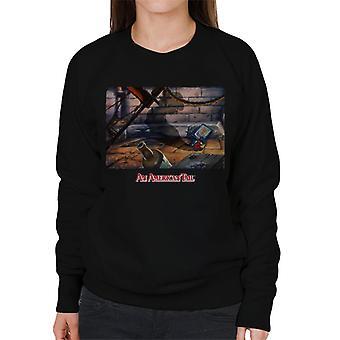 An American Tail Fievels Shadow Women's Sweatshirt