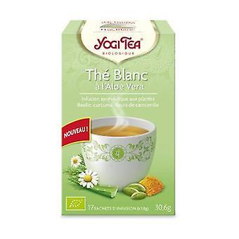 Organic Aloe vera white tea 17 infusion bags