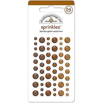Doodlebug Design Bon Bon Glitter Sprinkles (54pcs) (4543)