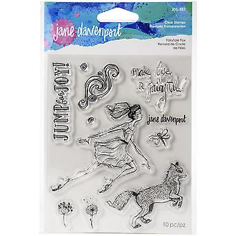 Spellbinders Fairytale Fox Clear Stamp Set