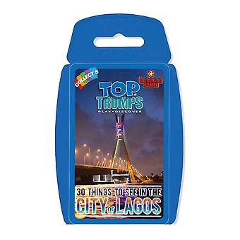 City of Lagos - 30 Things to See & Do Top Trumps Card Game