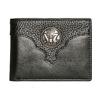 Jack Daniel's Old No. 7 Logo Leather Billfold Wallet