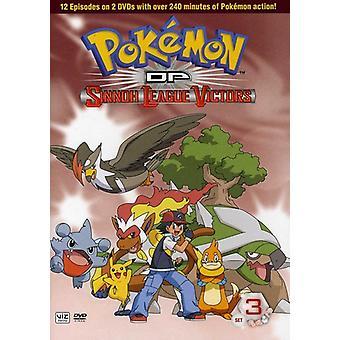 Pokemon Diamond & Pearl: Sinnoh League Victors Set 3 [DVD] USA import