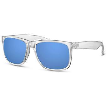 Sunglasses Unisex Travelers Transparent / Blue (CWI2483)