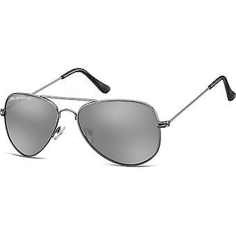 Sunglasses Unisex Aviator Grey (MS94)