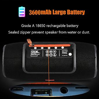 40w Outdoor Bluetooth Speaker For Music-3600mah  (hei)
