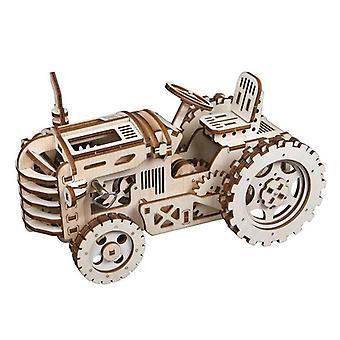 4 soorten Diy Laser Cutting 3d Mechanisch Model -houten Model Building Kits