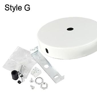 10cm Ceiling Plate Mount Light Accessories For Pendant Lamp & Wall Light